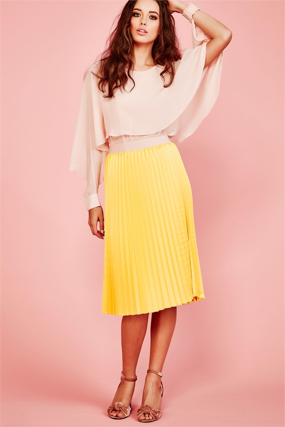 ALL YOU CAN PLEAT  Skirt