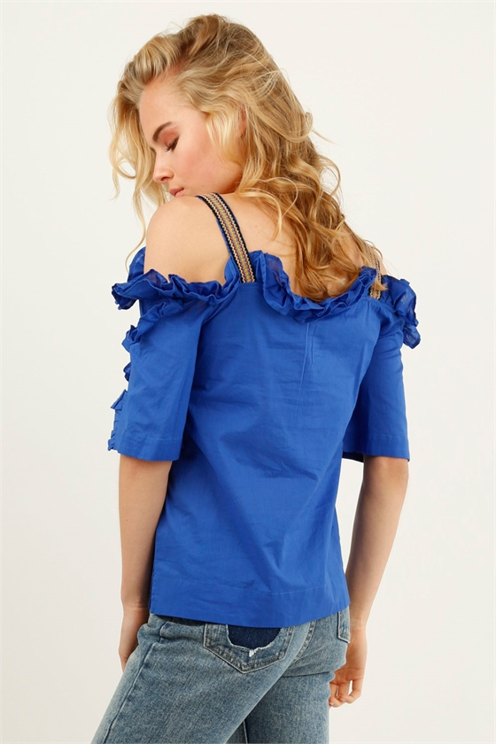 FRILLED ABOUT IT TOP
