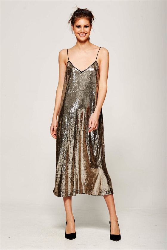 SEQUIN BOMB DRESS