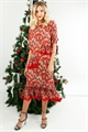 FRILLED LIFE DRESS-new in-Trelise Cooper