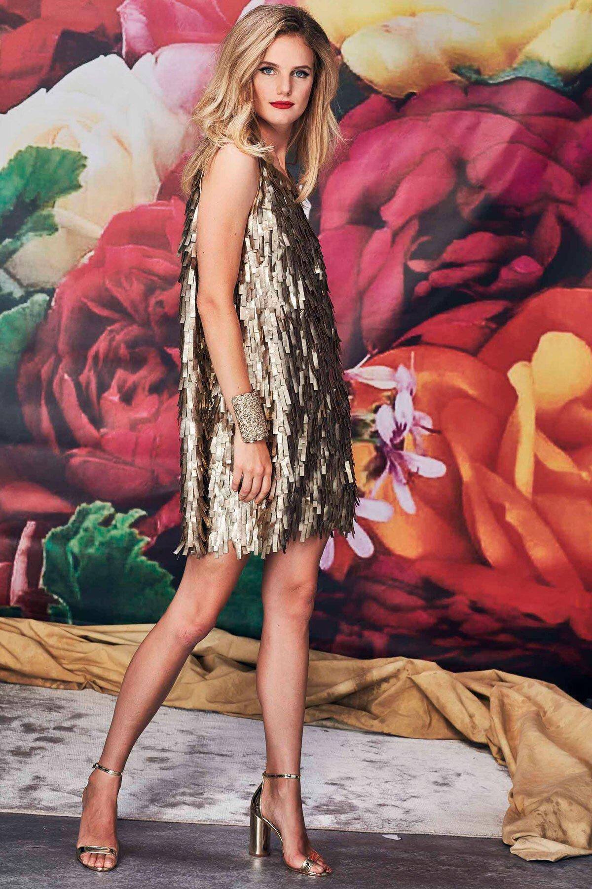 New York Shimmy Dress Trelise Cooper Dresses Trelise Cooper Online Gold Finger Trelise Cooper Spring 19