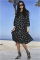 LONG SLEEVE FLORAL PRINT DRESS-the co-op-Trelise Cooper