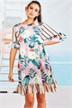 FLY ME TO THE TUNIC (FLORAL REEF) Dress-the co-op-Trelise Cooper
