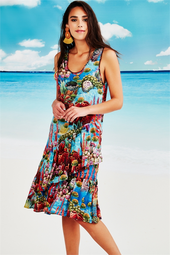 SEA-SONAL SHIFT Dress